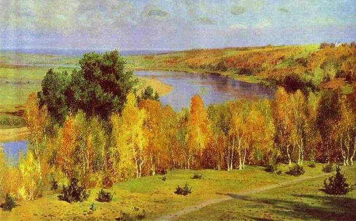 сочинение описание золотая осень поленов