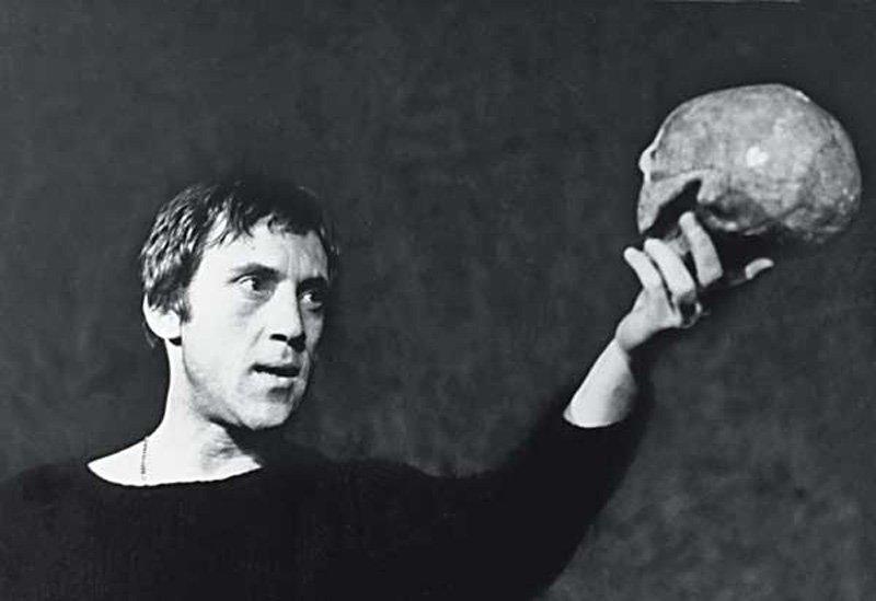 Висоцький в ролі Гамлета
